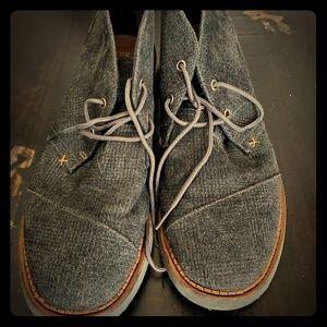 Tom's denim canvas boots